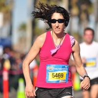 2012 Surf City Half Marathon in California - 1:37!!
