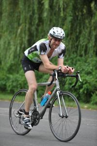 My husband Tzvika at the 2011 Toronto Island Triathlon!