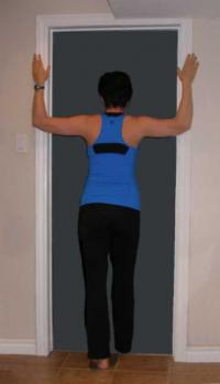 Doorframe stretch