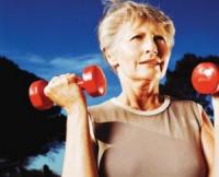 Maintain function as you age by lifting weights, and engaging in aerobic exercise