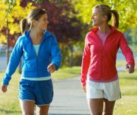 Walking reduces breast cancer risk
